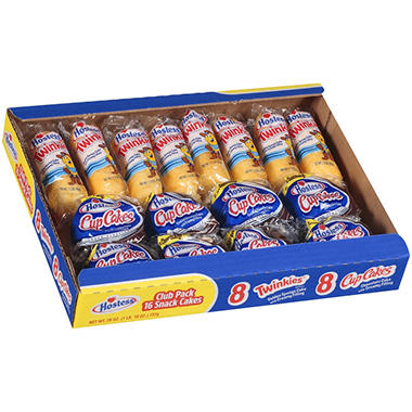 Hostess® Variety Pack  - 8 Twinkies & 8 Cupcakes