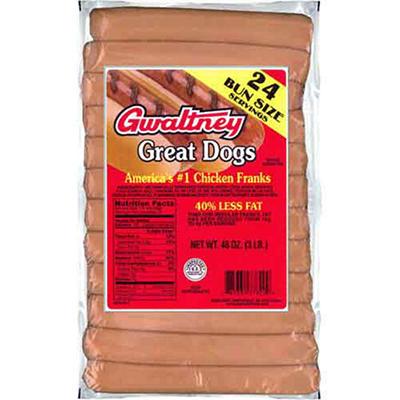 Gwaltney® Great Dogs - 3 lbs.