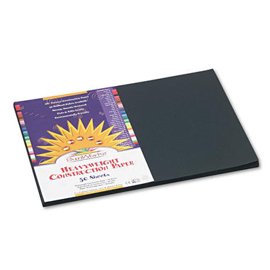 Pacon - All-Purpose Construction Paper - Black