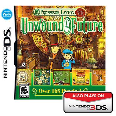 Professor Layton: Unwound Future - NDS