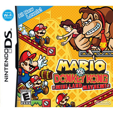 Mario vs Donkey Kong: Mini-Land Mayhem - NDS