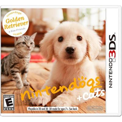 Nintendogs + Cats: Golden Retriever - 3DS