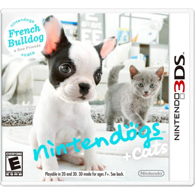 Nintendogs + Cats: French Poodle - 3DS