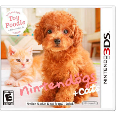 Nintendogs + Cats: Toy Poodle - 3DS