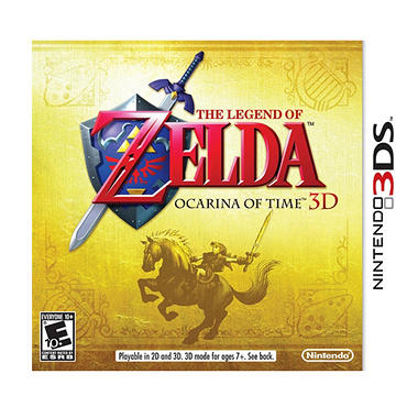 Legend of Zelda: Ocarina of Time 3D - 3DS