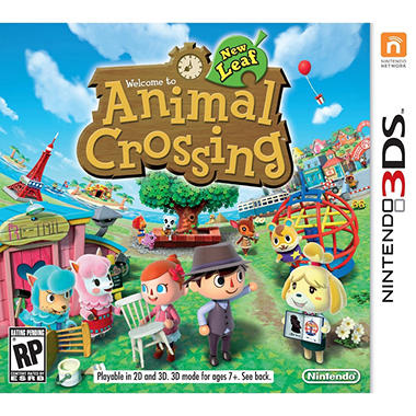 Animal Crossing: New Leaf - 3DS