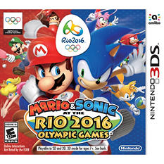 Mario & Sonic Rio 2016 Olympic Games - 3DS