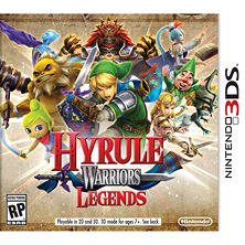 Hyrule Warriors: Legends - 3DS