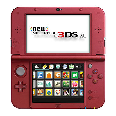 NINTENDO NEW 3DS XL RED HARDWARE