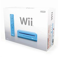Nintendo® Wii™ Blue Console Limited Edition
