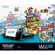 Super Mario 3D World Wii U Deluxe Set
