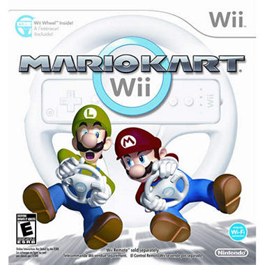 Mario Kart® with Wii Wheel - Wii