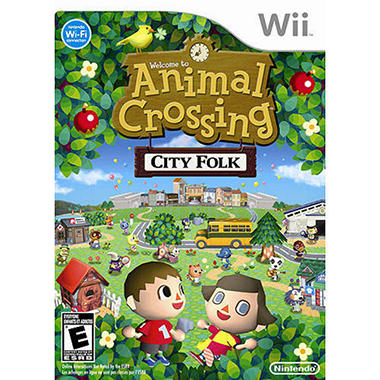 Animal Crossing: City Folk - Wii