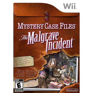 Mystery Case Files: The Malgrave Incident - Wii