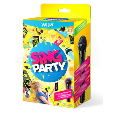 Sing Party with Wii U Microphone - Wii U