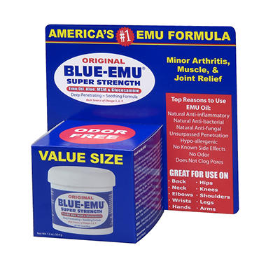 Blue-Emu Original Super Strength Topical Formula (12 oz.)