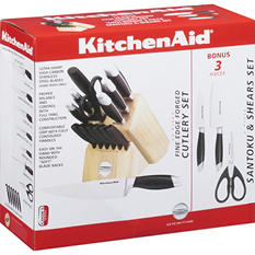 KitchenAid® Cutlery Set - 17 pc.