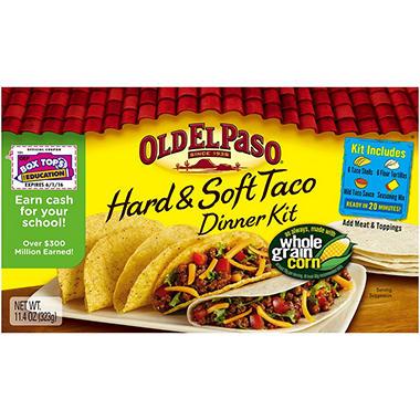 Old El Paso Hard & Soft Taco Dinner Kit (11.4 oz. boxes, 3 pk.)
