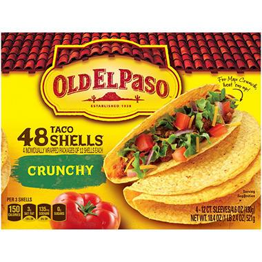 Old El Paso® Taco Shells 48 Count