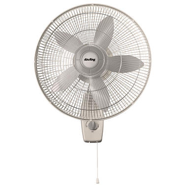 "Air King� 18"" 3 Speed Wall Mounted Oscillating Fan"
