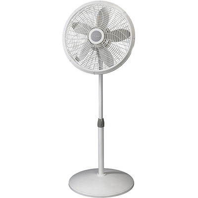Lasko 1820 18 In. Adjustable Elegance and Performance Pedestal Fan