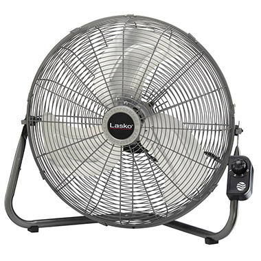 "Lasko® 20"" High Velocity Floor Fan with Quickmount®"