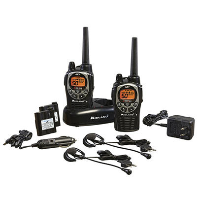 Midland GXT1000VP4 50-Channel GMRS/FRS Radio Pack