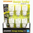 Sylvania Energy Saving CFL 100 Watt - 6ct
