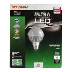 Sylvania Ultra LED Globe 40W Soft White Equivalent