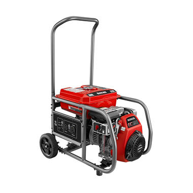 Black Max - 3000 Watt Gas Generator - Powered by Honda