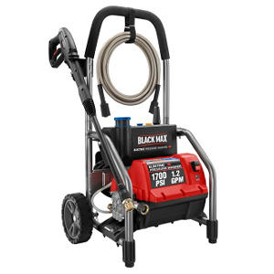 Black Max 1,700 PSI - Electric Pressure Washer