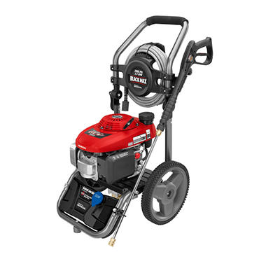 Black Max 2,800 PSI Gasoline Pressure Washer - Powered by Honda