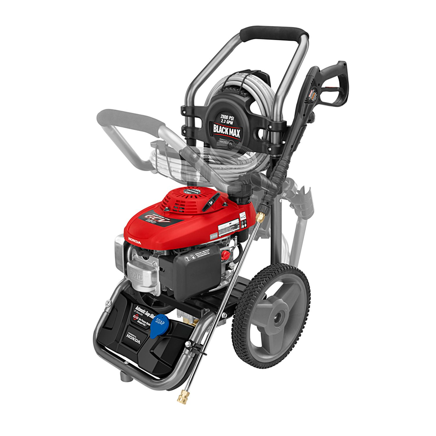 Black Max 2 800 Psi Gasoline Pressure Washer By Honda