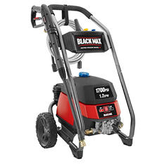 Black Max 1700 PSI - Electric Pressure Washer