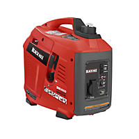 Black Max 900W / 1000W Digital Inverter Generator - Gas Powered