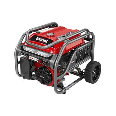Black Max 3,600-Watt Portable Gas Generator  BM903600
