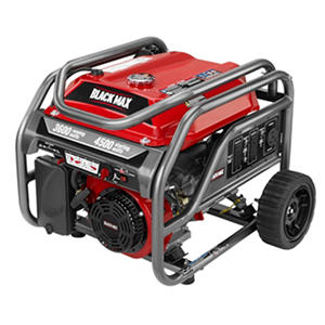 Black Max 3,600-Watt Portable Gas Generator