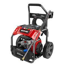 Black Max 3200 PSI Extended-Run Gas Pressure Washer (Powered by Honda)