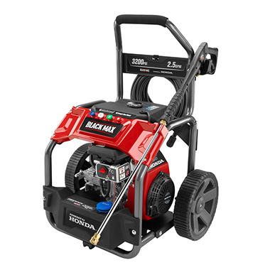 Black Max 3 200 Psi Extended Run Gas Pressure Washer
