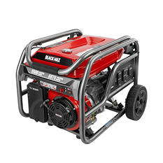 Black Max 5,500 Watt Portable Gas Generator