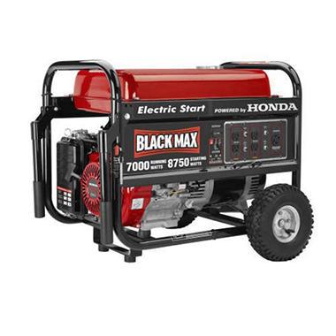 Honda 7000 Watt Generator Electric Start | Car Interior Design
