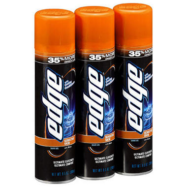 Edge® Advanced Shave Gel - 3/9.5 oz.