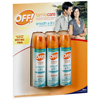 Off!® Smooth & Dry Insect Repellent - 3/4 oz.