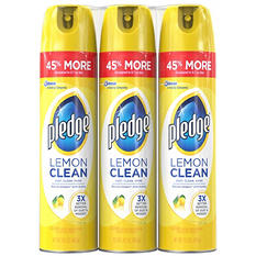 Pledge Lemon Clean Furniture Spray (3 Pk.,14.2 oz.)