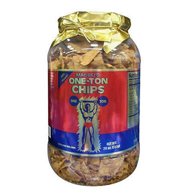 Maebo One-Ton Chips Gift Jar - 26 oz.