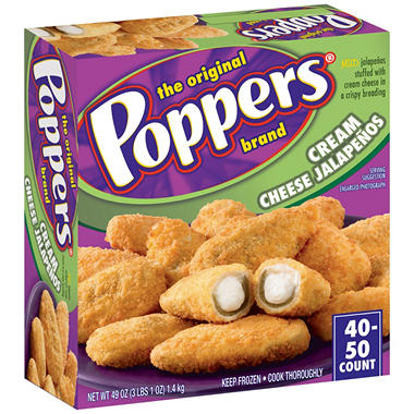Poppers® Cream Cheese Jalapenos