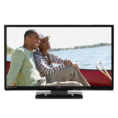 "24"" JVC LED 720p Combo HDTV and DVD Player"