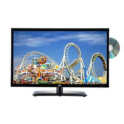 "JVC 24"" Class 720p LED/DVD Combo HDTV - LT-24DE74"