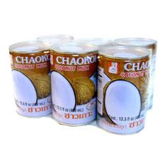 Chaokoh Coconut Milk - 6/13.5 oz. cans