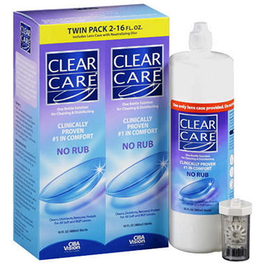 Clear Care® Twin Pack - 2/16 fl.oz.